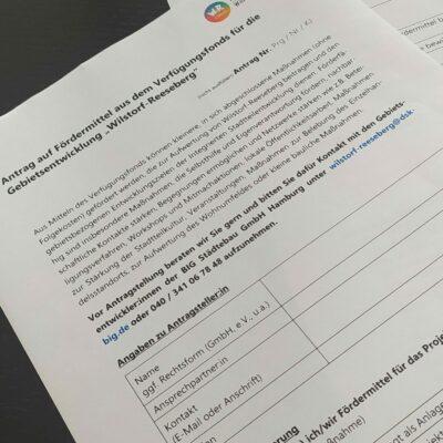 Reden Sie mit! - Einladung zur 3. Stadtteilbeiratssitzung in Wilstorf